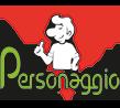Pizzeria Ristorante Personaggio Logo